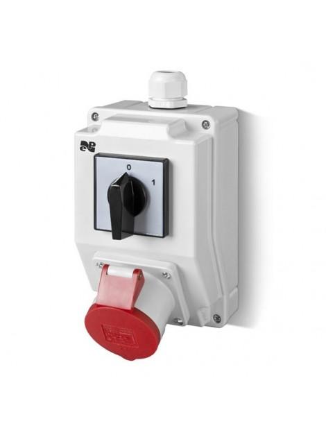 Zestaw siłowy RS-Z wyłącznik 0-1 gniazdo 1x16A/5P 6271-00 Elektro-Plast