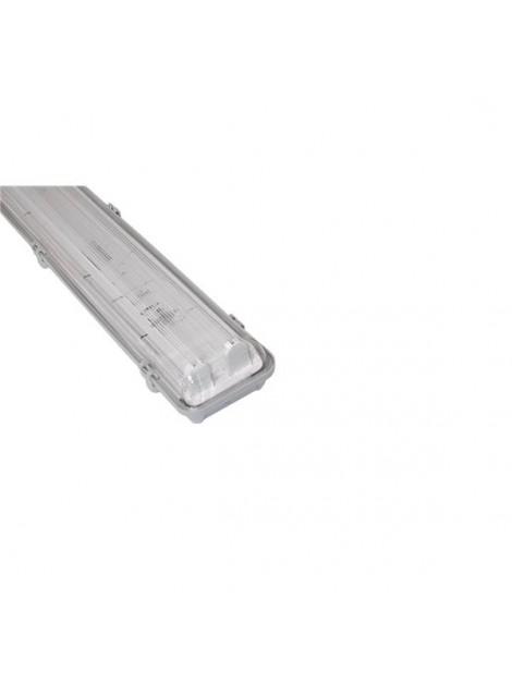 Oprawa hermetyczna 2x36W PC Empty do świetlówek LED zasilanie uniwersalne: 1- lub 2-stronne  Bemko