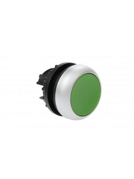 Napęd przycisku płaski zielony z samopowrotem M22-D-G 216596 Eaton Electric