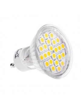 Żarówka LED 4,5W GU10 330lm 3000K 230V 24SMD5050 obudowa szklana Lightech