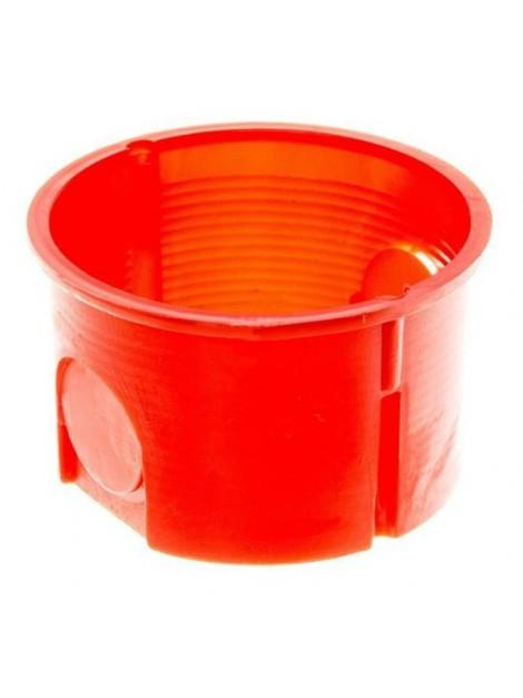 Puszka podtynkowa 60 zwykła płytka 0281-00 pomarańczowa Elektro-Plast