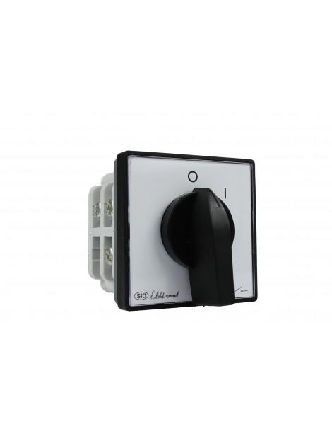 Łącznik krzywkowy 0-1 3P 40A do wbudowania ŁUK 40-12 Elektromet