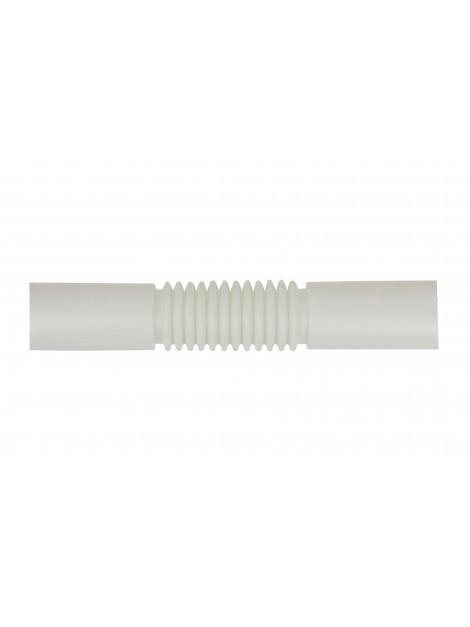 Złączka do rur PVC 47 długość 19 cm biała Elcom