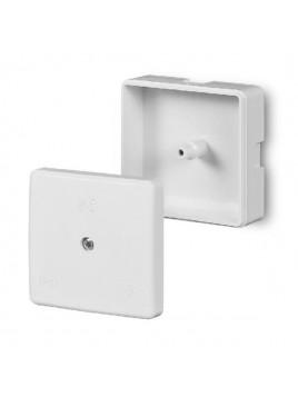Puszka natynkowa hermetyczna IP41 60x60x30 biała 0236-00 Elektro-Plast