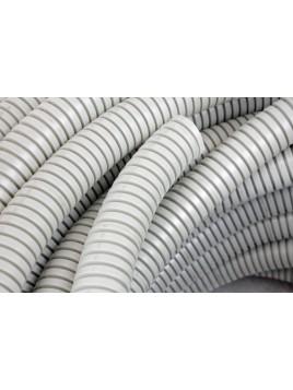 Rura karbowana PVC 16 320N szara 50m TT Plast