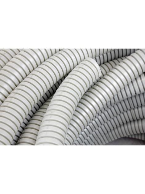 Rura karbowana PVC 16 320N szara 50m Marmat