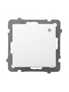 Łącznik krzyżowy biały ŁP-4G/m/00 As Ospel