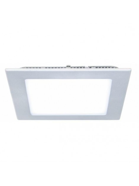 Oprawa LED downlight Slim 12W 4000K kwadrat SILVER Lightech