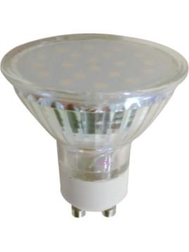 Żarówka LED 3,5W 250lm GU10 3000K 230V obudowa szklana 18SMD2835 Tris