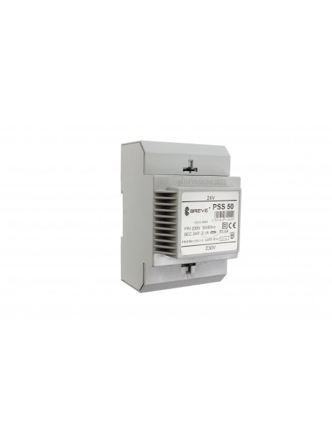 Transformator 1-fazowy na szynę PSS 50VA 230/24V 16024-9994 Breve