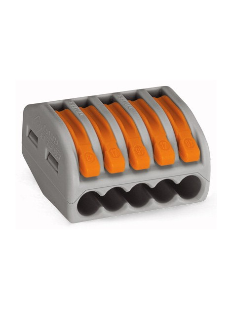 Złączka instalacyjna 5x uniwersalna 222-415 Wago