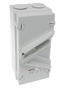 Rozłącznik dźwigniowy 20A 3P w obudowie IP66 NRD-320 Next