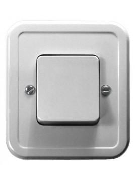 Łącznik pojedynczy wtynkowy biały ŁW-1P/00 Pi Ospel