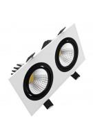 Oprawa LED downlight CARO 2x5W 776lm 4000K Lightech