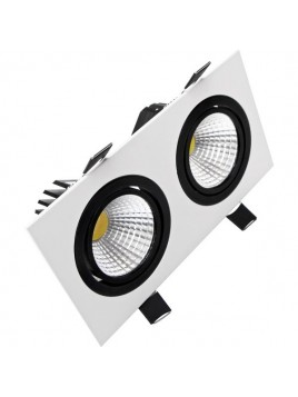 Oprawa LED downlight CARO 2x10W 1370lm 4000K Lightech