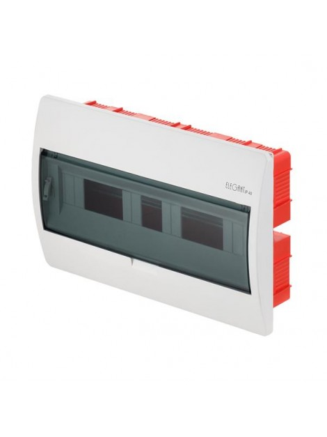 Rozdzielnica 1x18 podtynkowa IP40 2414-01/0649-10 Elegant Elektro-Plast