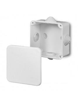 Puszka natynkowa hermetyczna IP44 80x80x42 biała 0242-00 Fast-Box Elektro-Plast