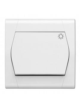Łącznik zwierny światło biały 0854-00 Festa Elektro-Plast