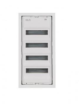 Rozdzielnica 4x14(56) podtynkowa metalowa IP30 2004-00 MSF Elektro-Plast