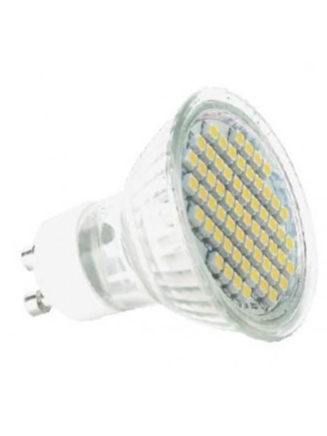 Żarówka LED 3W GU10 230lm 3000K 230V 60SMD3528 obudowa szklana Lightech