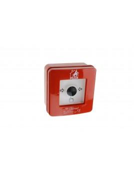 Ręczny ostrzegacz pożarowy natynkowy WP-1 ROP B Elektromet
