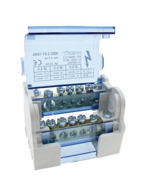 Modułowy blok rozdzielczy 100A NBD2-07-100 Next