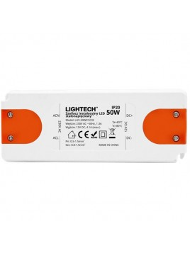 Zasilacz instalacyjny do LED 50W 12DC IP20 Lightech