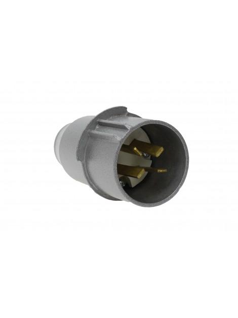 Wtyczka siłowa metalowa płaskie wtyki 32A 4P 500V WSE