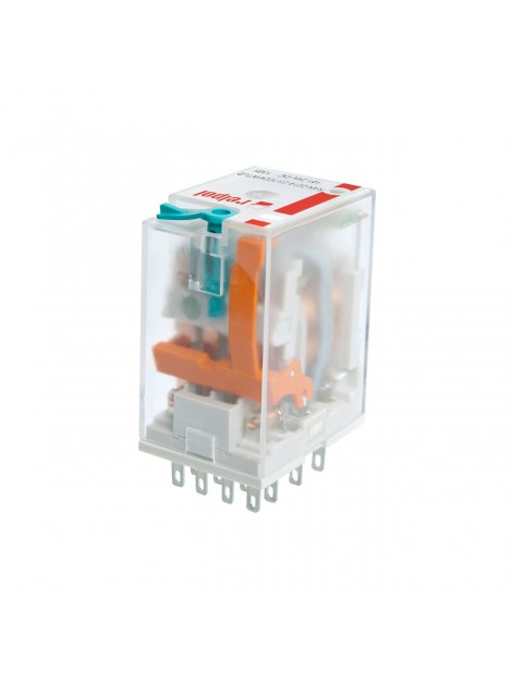 Przekaźnik przemysłowy 4 styki 24V DC IP40 R4N-2014-23-1024-WT 860409 Relpol