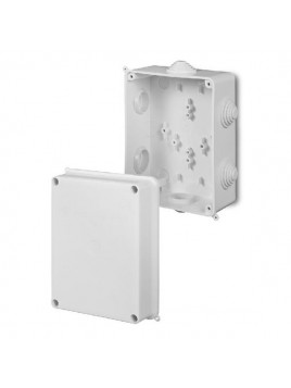 Puszka natynkowa PK-6 hermetyczna IP55 158x118x94 biała 0227-00 EP-Lux Elektro-Plast