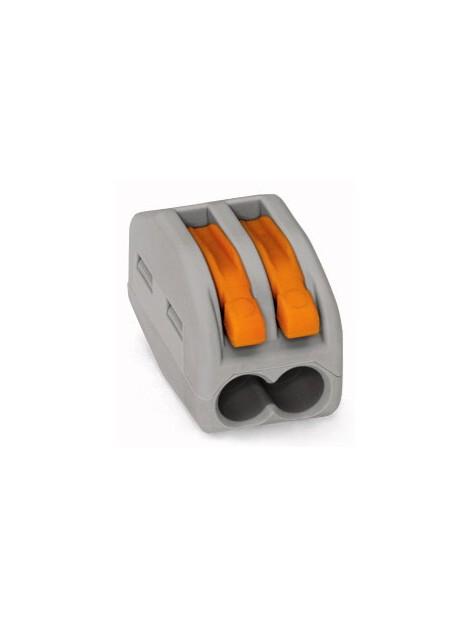 Złączka instalacyjna 2x uniwersalna 222-412 Wago