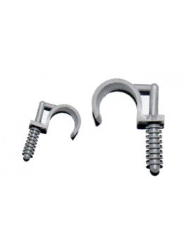 Uchwyt montażowy do rur PVC RING-22 szary (100szt.) Marten