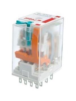 Przekaźnik przemysłowy 4 styki 6A 230V AC R4N-2014-23-5230-WT 860413 Relpol