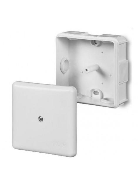 Puszka natynkowa hermetyczna IP55 86x86x39 biała 0226-00 EP-Lux Elektro-Plast