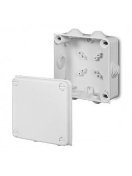 Puszka natynkowa PK-4 hermetyczna IP55 133x133x64 biała 0233-00 EP-Lux Elektro-Plast