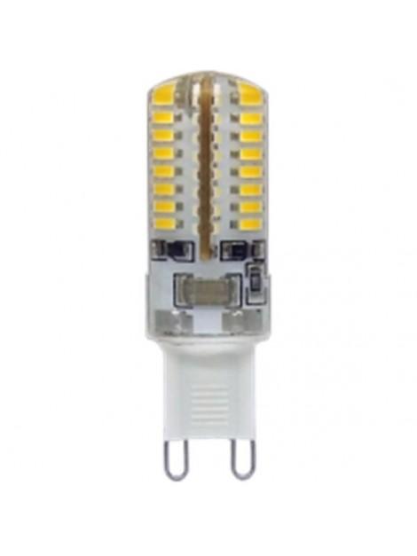 Żarówka LED 3W 200lm G9 3000K 230V 64SMD3014 w silikonie Lightech