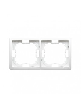 Ramka podwójna biała BMR2/11 Kontakt-Simon Basic
