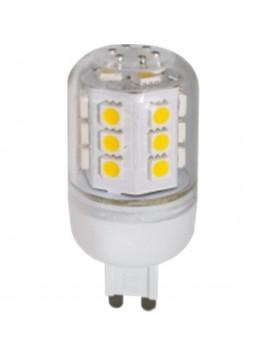 Żarówka LED CORN 4W 300lm G9 3000K 230V 24SMD5050 obudowa plastikowa Lightech
