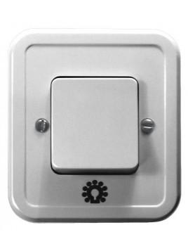 Łącznik zwierny światło wtynkowy biały ŁW-5P/00 Pi Ospel