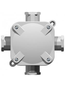 Puszka instalacyjna natynkowa hermetyczna IP67 z wkładem 4x4mm ONH-4B5 Ospel