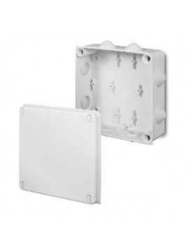 Puszka natynkowa PK-7 hermetyczna IP55 172x172x75 biała 0238-01 EP-Lux Elektro-Plast