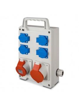 Rozdzielnica siłowa RS przenośna 4x230V 1x16A/5P 1x32A/5P 6214-00 Elektro-Plast