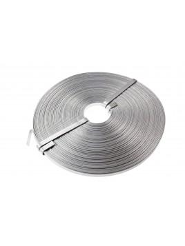 Taśma aluminiowa 10x1mm (krążek 1 kg)