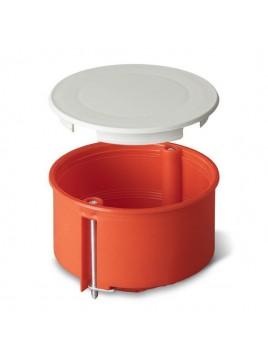 Puszka podtynkowa 70 do karton-gipsu z pokrywą 0204-00 pomarańczowa Elektro-Plast