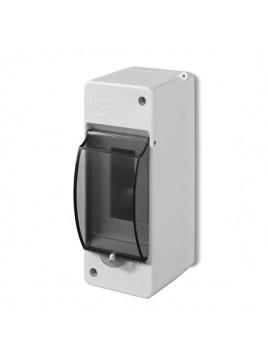 Obudowa natynkowa izolacyjna S-2 z szybką 2302-01/0639-01 Elektro-Plast