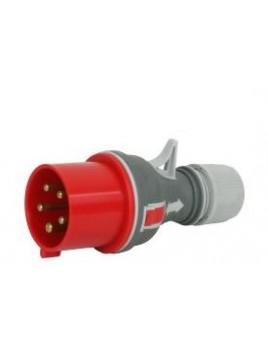 Wtyczka siłowa przenośna 16A 5P 400V IP44 WPP 16/5 Elektromet