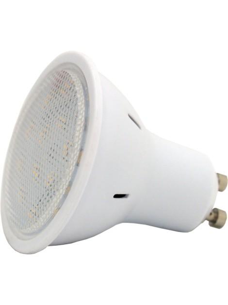 Żarówka LED 4,3W GU10 3000K biała ciepła 310lm 16SMD 3014 obudowa z poliwęglanu Lightech