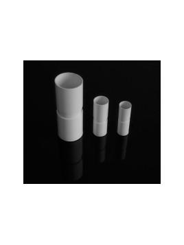 Złączka prosta kielichowa do rur PVC 28 biała