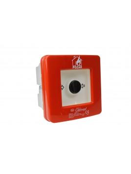 Ręczny ostrzegacz pożarowy podtynkowy samoczynny WPp-1s ROP A Elektromet