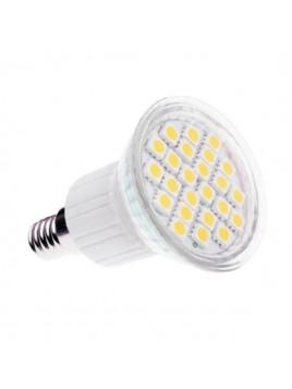 Żarówka LED 4,5W E14 300lm 3000K 230V 24SMD5050 obudowa szklana Lightech
